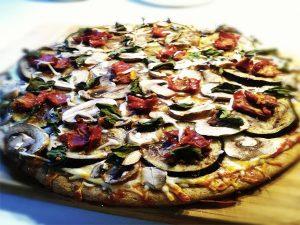 پیتزا بادنجان